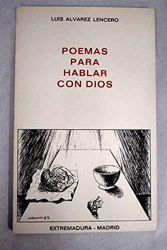 9788430078691: Poemas para hablar con Dios