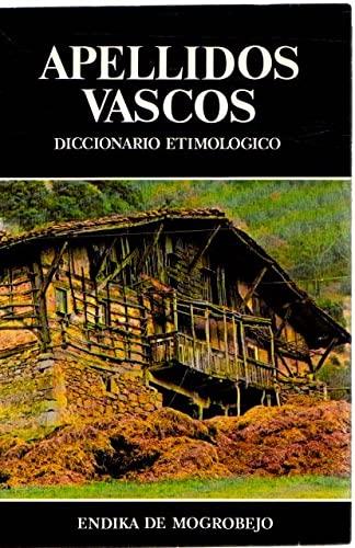 9788430081141: Apellidos Vascos -Diccionario Etimologico-