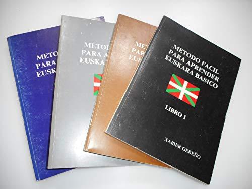 Metodo Facil Para Aprender Euskara Basico 5-Volume Set: Xabier Gereno