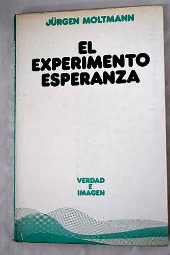 9788430104451: El experimento de la esperanza