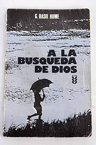9788430108398: A LA BUSQUEDA DE DIOS