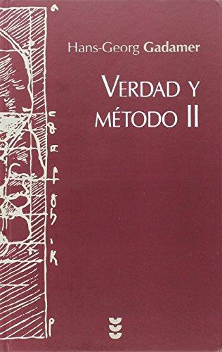 9788430111800: Verdad y Metodo. II: 34 (Hermeneia)