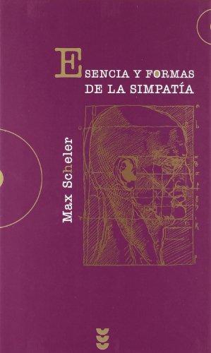 9788430115396: Esencia y formas de la simpatia (Hermeneia)
