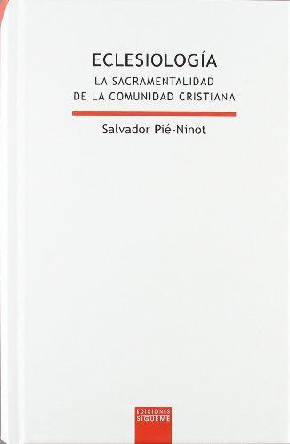 9788430116195: Eclesiología : la sacramentalidad de la comunidad cristiana (Lux Mundi)