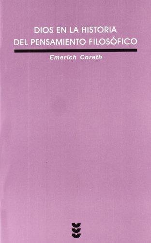 9788430116232: Dios En La Historia del Pensamiento Filosofico (Spanish Edition)