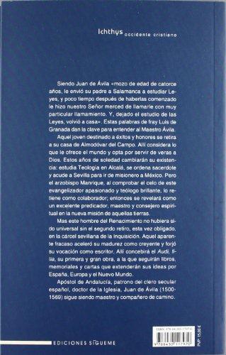 San Juan de Avila maestro y doctor: Lope Rubio Parrrado