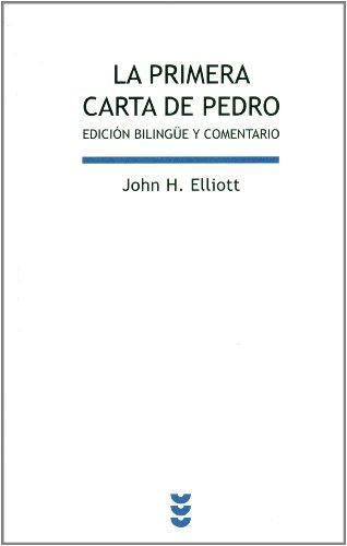 9788430118489: La primera carta de Pedro