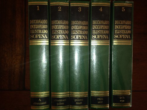 9788430307005: Diccionario Enciclopédico Ilustrado Sopena. 5 Tomos(Completa)