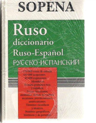 9788430311415: Diccionario ruso-español/español-ruso, 2 vols.