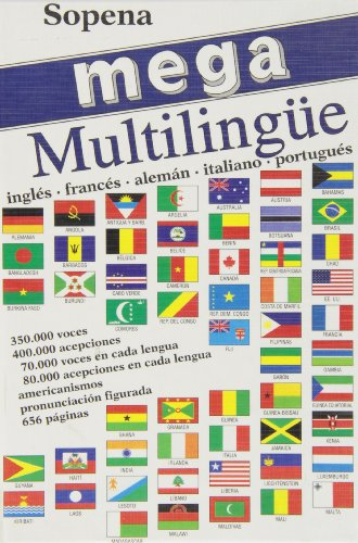 Mega Multilingue - Ingles Frances Aleman Italiano: Sopena