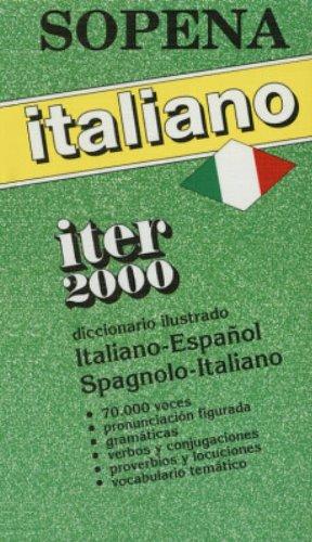 9788430311637: Diccionario Iter 2000 Italiano / Español - Español / Italiano
