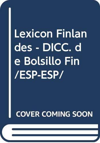 9788430311675: Lexicon Finlandes - DICC. de Bolsillo Fin/ESP-ESP/ (Spanish Edition)