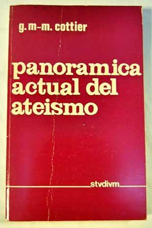 PANORAMICA ACTUAL DEL ATEISOMO: COTTIER G. M. M.