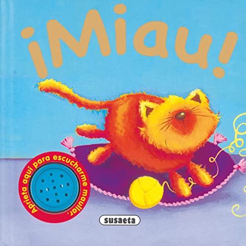 9788430521890: ¡Miau! (Sonidos De Animales)