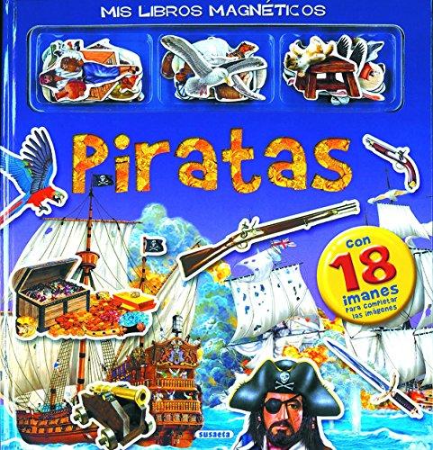 9788430522453: Piratas (Mis libros magnéticos)