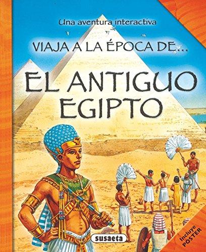 9788430524822: El antiguo Egipto (Viaja a la epoca de...)