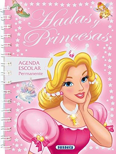 9788430525089: Hadas y princesas (Agenda Escolar Permanente) (Spanish Edition)