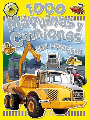 9788430525263: 1000 Maquinas y camiones / 1000 Machines and Trucks: Con Pegatinas / With Stickers (Spanish Edition)