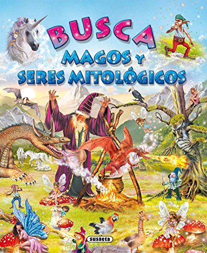 9788430525645: Busca magos y seres mitologicos / Look for magicians and mythological creatures (Spanish Edition)