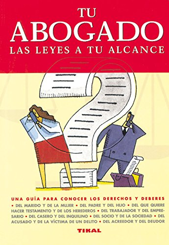 Tu abogado, las leyes a tu alcance (8430533370) by Jiménez Rioja, Alberto