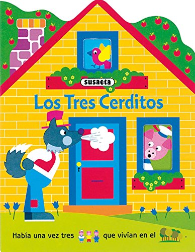 9788430534401: Los tres cerditos / The Three Little Pigs (Casitas De Carton / Cardboard House) (Spanish Edition)