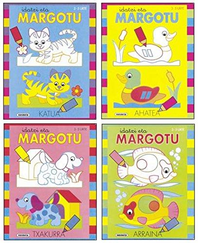 9788430535606: Idatzi eta margotu (Pack de 4 libros)