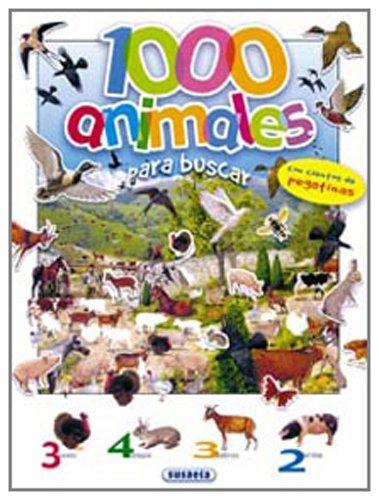 9788430535842: 1000 ANIMALES PARA BUSCAR PEGATINAS