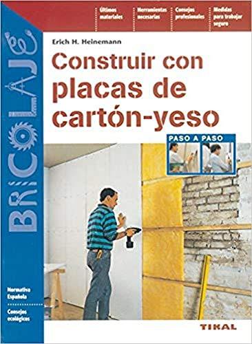 9788430536160: Construir con placas de cartón-yeso