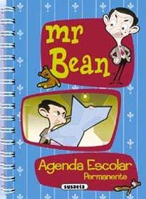 9788430537471: Mr.Bean Agenda Escolar Permanente (azul)