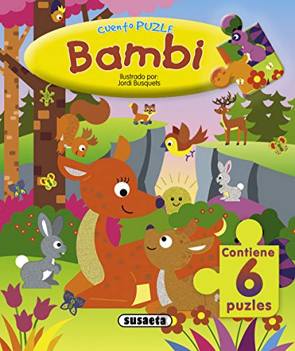 Bambi. Cuento puzzle.