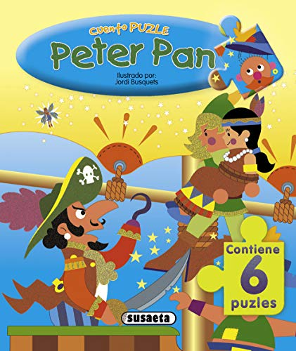 9788430541034: Peter Pan, cuento puzzle