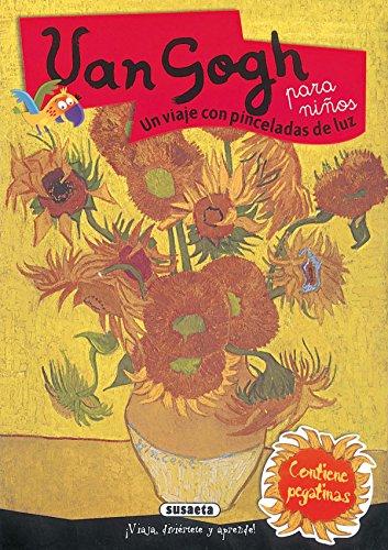 9788430542017: Van Gogh: un Viaje con Pinceladas de luz (Para Ninos) Contiene Pegatinas
