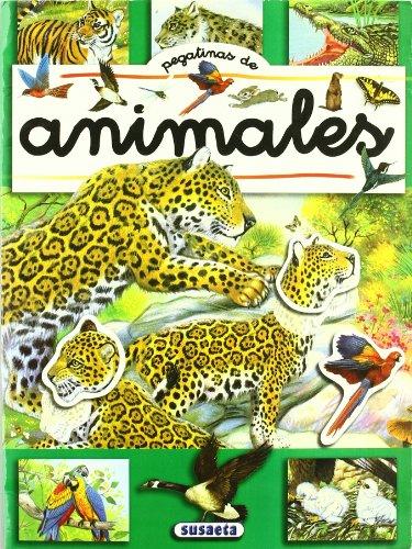 9788430545360: Pegatinas de animales (4 títulos)