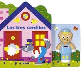 9788430548507: Los tres cerditos. casitas con muñecos