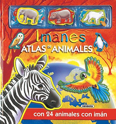 9788430550135: Atlas de animales con imanes