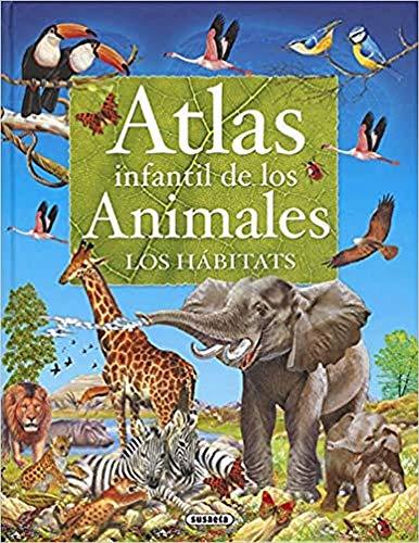 9788430551033: Atlas infantil de los animales, los hábitats