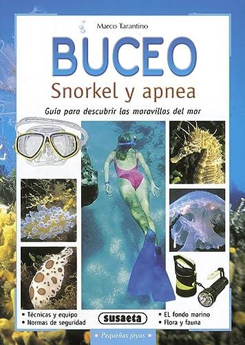 9788430553624: Buceo - Snorkel Y Apnea (Pequeñas Joyas)