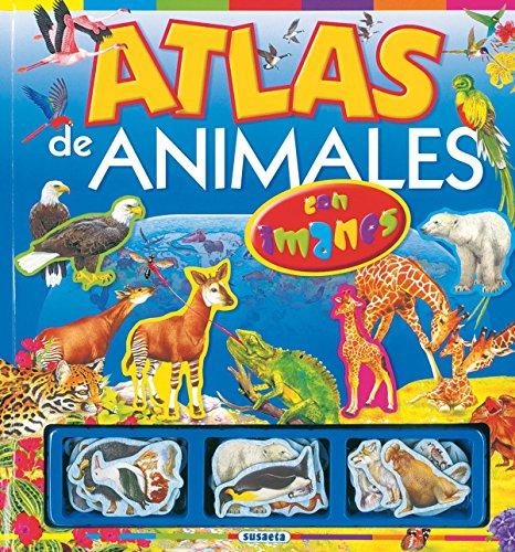 9788430554577: Atlas de animales: Con imanes (Atlas con imanes) (Spanish Edition)