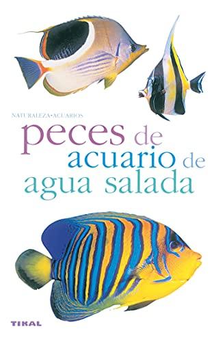 Peces de acuario de agua salada.: Varios Autores