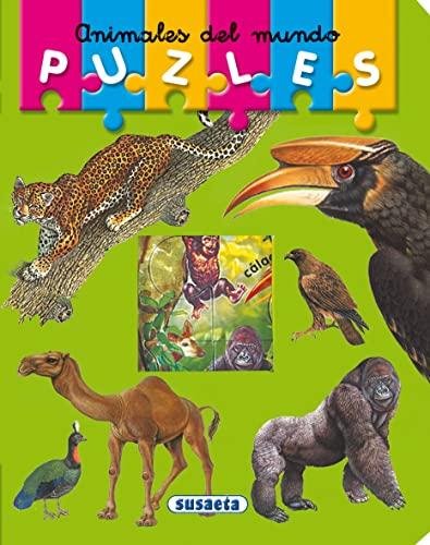 9788430555314: Animales Del Mundo (Puzles) (Mi Primer Libro De Puzles)