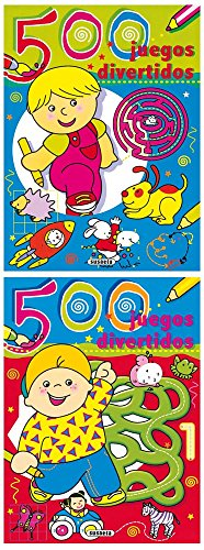 9788430557622: 500 juegos divertidos / 500 fun games (Spanish Edition)