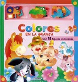 9788430558025: Colores (En La Granja Con Iman) (Mis Libros Magnéticos)