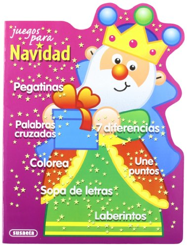 Juegos Para Navidad Pegatinas 7 Diferencias Laberintos