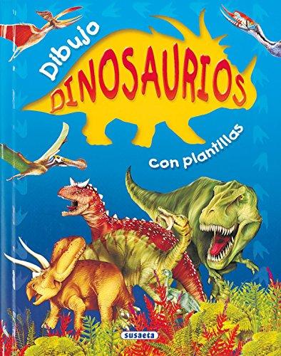 9788430558919: Dibujo dinosaurios con plantillas (Spanish Edition)