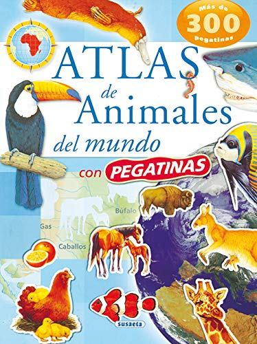 9788430559114: Atlas de animales del mundo/Atlas of World Animals
