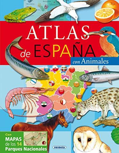 9788430559916: Atlas de España: Con animales (Atlas Infantiles) (Spanish Edition)