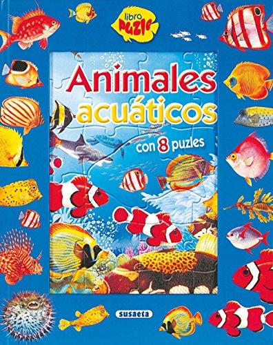 9788430562398: Animales Acuaticos (Susaeta) (Libro Puzle)