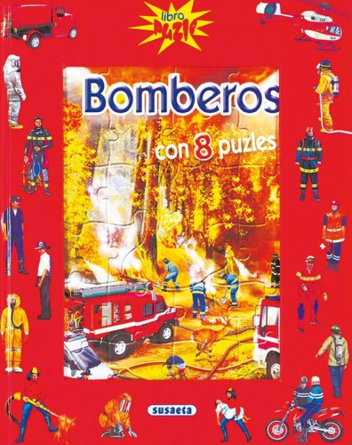 9788430562428: Bomberos (Libro Puzle)