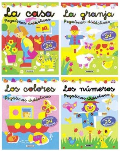 9788430562527: Pegatinas didácticas (Pack de 4 libros)
