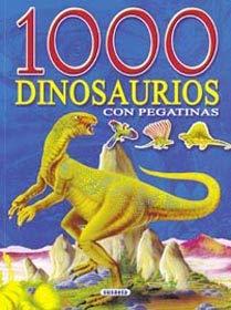 1000 dinosaurios (azul). Con pegatinas. (A partir de 4 años). - Grez, Marcela (diseño gráfico) / Lidia di Blasi; Sandra Silva (ilust.)